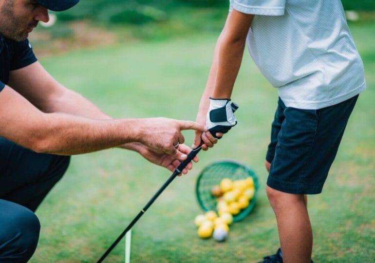 Golf spielen lernen #2: Gut gegriffen ist halb gewonnen