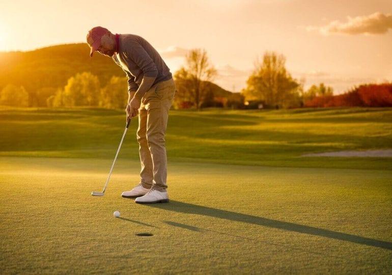 Golf spielen lernen #6: Putten