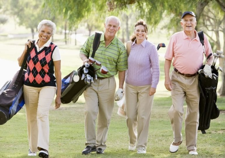 Fit im Alter: Wie Golfen die Gesundheit fördert