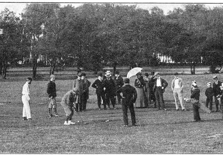 Im Vergleich: Der Golfsport früher und heute