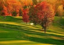 Kalt aber romantisch – Golfen im Herbst