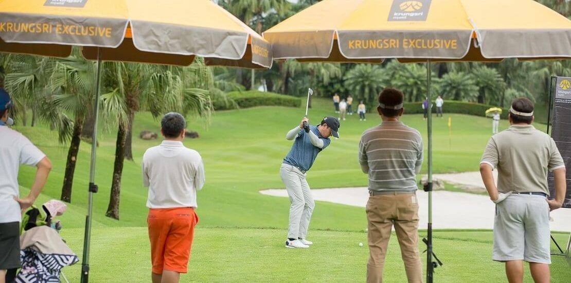 Mit Spaß und Motivation ins erste Golfturnier