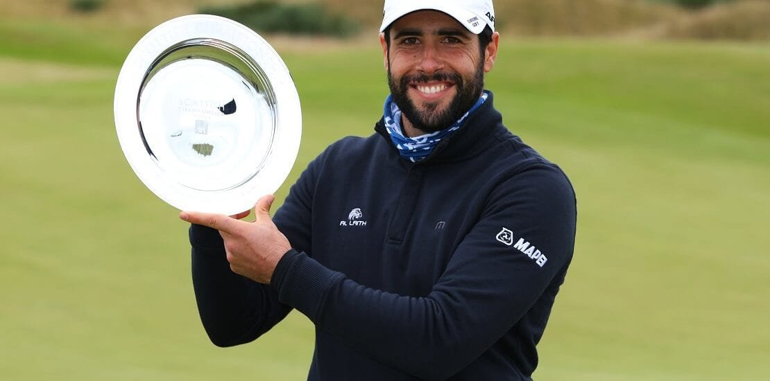 Scottish Championship: Adrian Otaegui holt ersten European-Tour-Titel