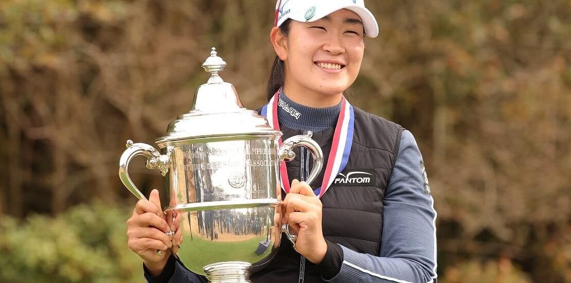 US Women's Open: Debütantin gewinnt Major an einem kalten Wintermontag