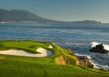 Pebble Beach Golf Links: Pazifik-Bühnenbild mit Wow-Effekten