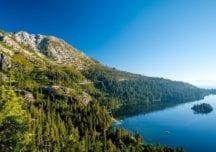 Eishockey anstatt Golf: Fairway bei Lake Tahoe wird zur Eisfläche