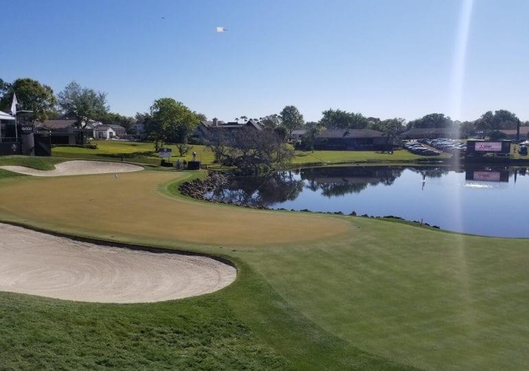 Viel Wasser und schnelle Grüns im Bay Hill Club & Lodge