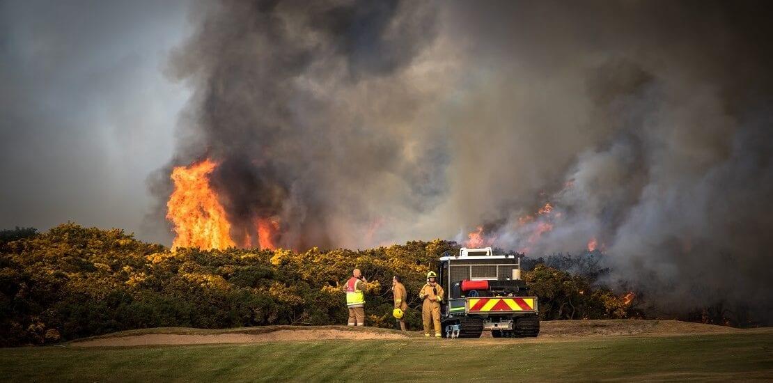 Von brennenden Golfplätzen und der Eisgolf-WM – Kurioses aus dem Golfsport