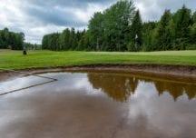 Golfplätze in Deutschland von Unwettern getroffen