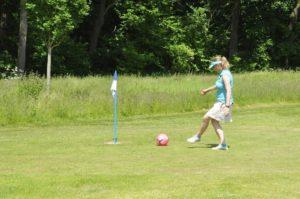 Footgolf – Wenn der Fußball ins Loch muss