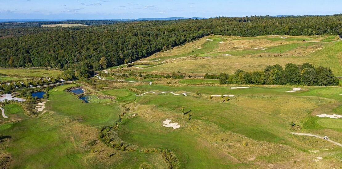 Drei der schönsten Golfplätze in Hessen