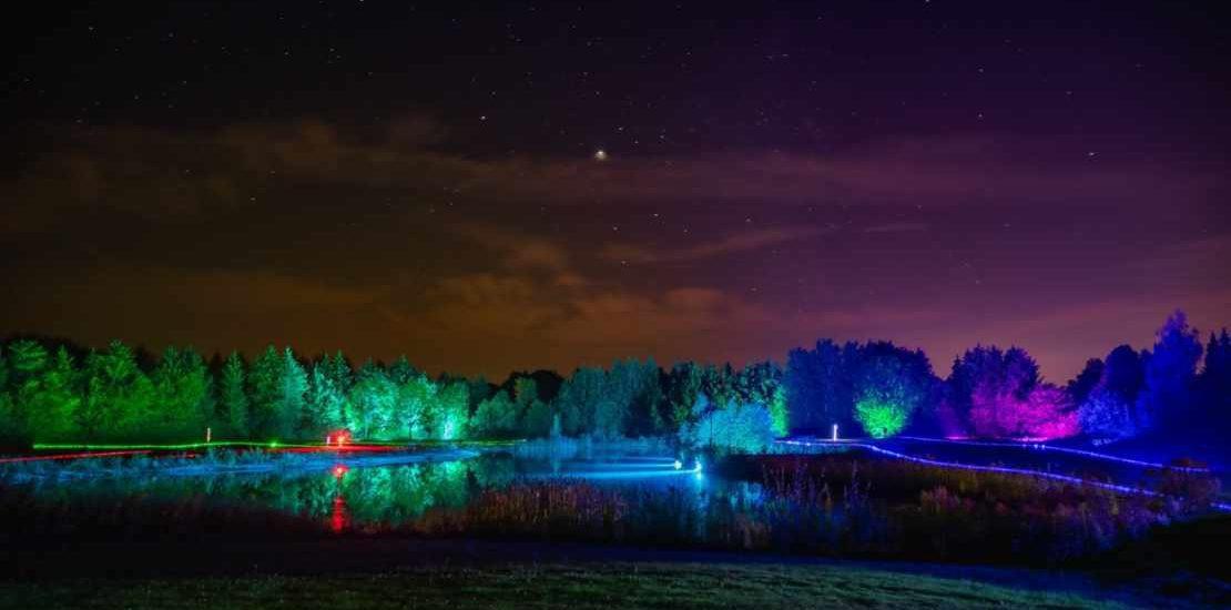 Nachtgolf – Abschlag in der Dunkelheit