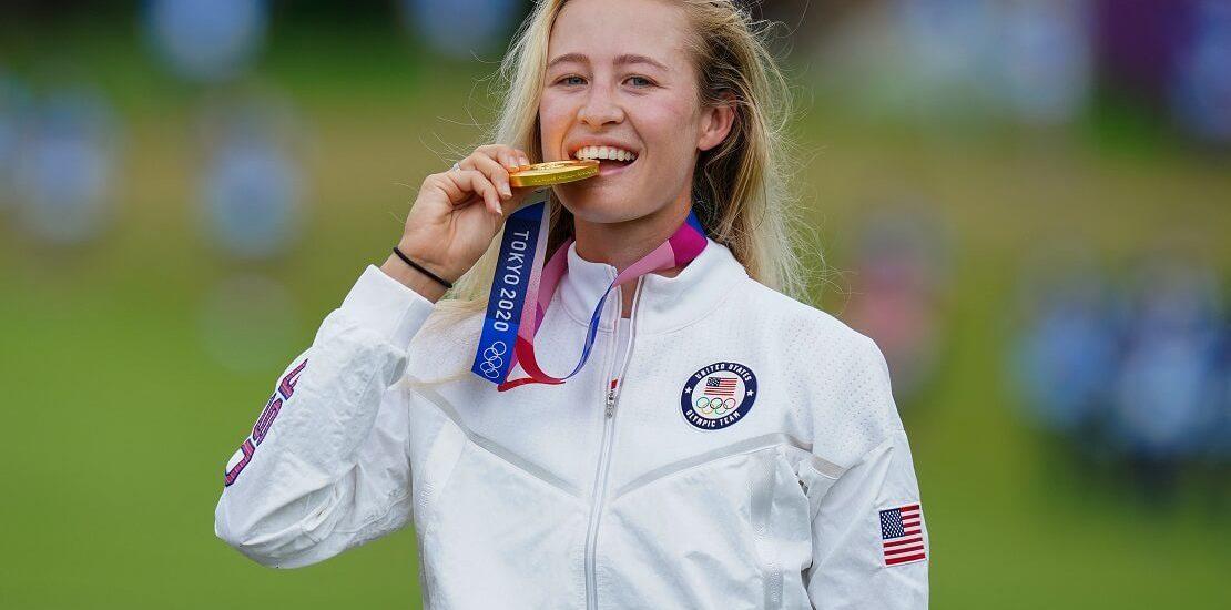 Olympia 2021: Nelly Korda schlägt erneut zu und holt Gold
